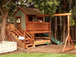 Беседка для детской площадки: требования, особенности сборки и установки
