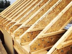 Каким требованиям должны соответствовать деревянные двутавровые балки перекрытия и как осуществляется их установка