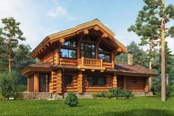 Правила возведения зданий из кедра: выбор способа строительства