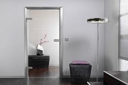 Межкомнатные двери из стекла: их преимущества и технология монтажа