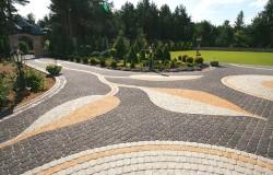 Как осуществляется фигурная укладка тротуарной плитки: основные способы