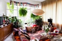 Оформление гостиной в стиле бохо: основные характеристики и советы по выбору мебели