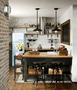 Оформление кухни в стиле лофт: основные характеристики и советы по выбору мебели