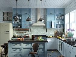 Как оформить кухню в стиле прованс: выбираем мебель и отделочные материалы