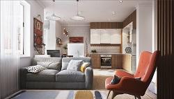 Как обустроить квартиру-студию: актуальные идеи и полезные советы