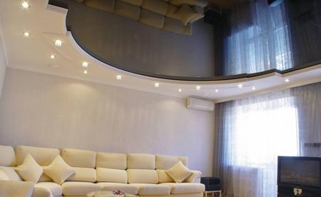 Натяжные потолки: основные преимущества установки