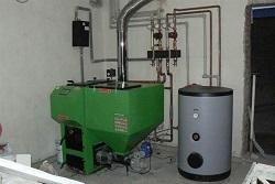 Технология подключения пеллетного котла отопления и его преимущества