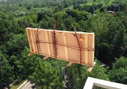 Технология подъема крупногабаритных грузов на высоту и основные правила работы