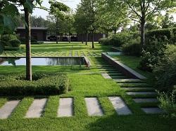 Ландшафтный дизайн загородного дома в скандинавском стиле: интересные идеи и характеристики стиля