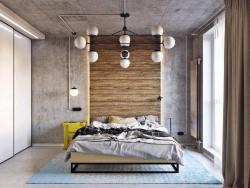 Какую мебель подобрать для спальни в стиле лофт: советы по выбору